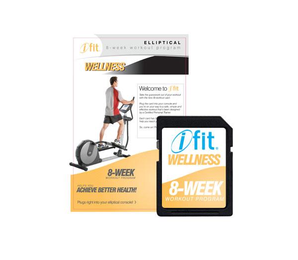 iFIT Wellness edzésprogram elliptikához - 2.szint