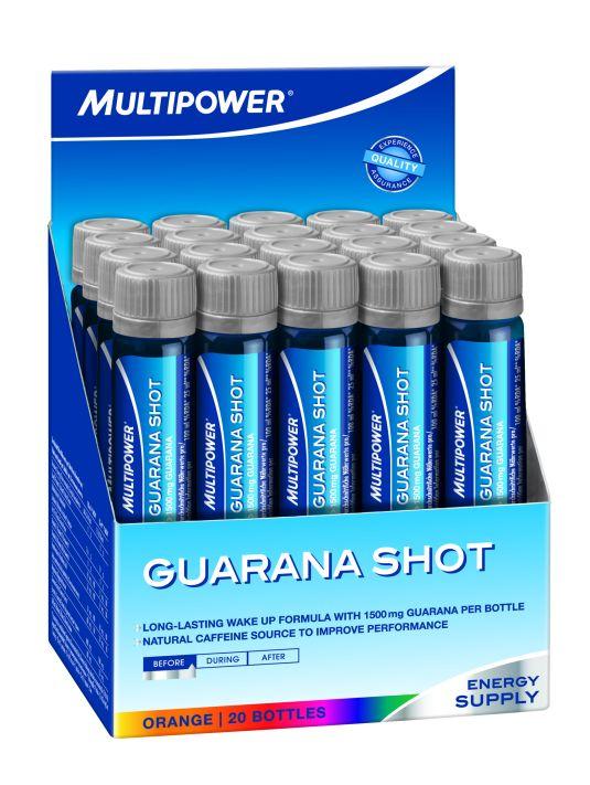 Multipower Guarana Shot 20 ampulla