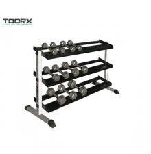 Toorx 3 soros egykezes súlyzótartó állvány