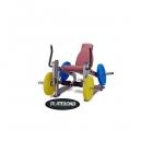 Body-Solid Plate Load PLLE lábnyújtógép