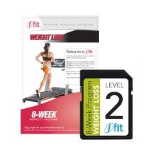 iFIT súlycsökkentő edzésprogram futópadhoz - 2. szint