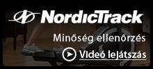 NordicTrack - Minőség ellenőrzés